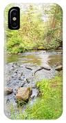Mud Run, Pennsylvania, Pocono Mountain Stream IPhone Case