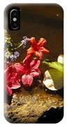 Muddy Flowers  IPhone Case