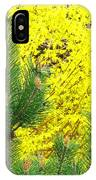 Mugo Pine And Forsythia IPhone Case
