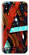 Mulberry Street Sketch IPhone Case