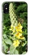 Mullein Wildflower IPhone Case