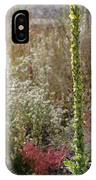Mullin And Other Springtime Wildflowers IPhone Case