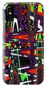 Multi Color Abstract IPhone Case