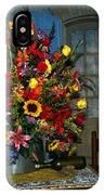 Multicolor Floral Arrangement IPhone Case