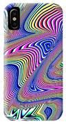 Multicolor Swirls IPhone Case