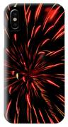 Multicolored Fireworks 2 IPhone Case