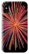 Multicolored Fireworks IPhone Case