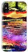Multiple Underwater Sunsets IPhone Case