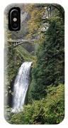 Multnomah Falls 3 IPhone Case