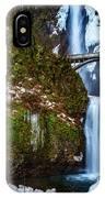 Multnomah Falls With Snow IPhone Case