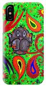 Mun Moji-hookah Monkey IPhone Case