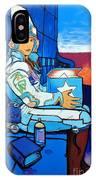 Mural Art, Futuristic  IPhone X Case