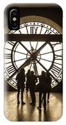Musee D'orsay Clock IPhone Case