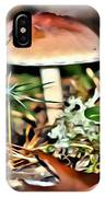 Mushroom And Moss IPhone Case