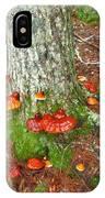 Mushroom Family IPhone Case