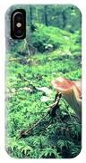 Mushroom In The Green Wood IPhone X Case