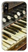 Music - Pump Organ - Antique IPhone Case
