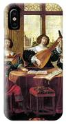 Music, 17th Century IPhone Case