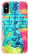 Music Is Everything In Colors IPhone Case