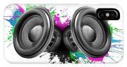 Music Speakers Colorful Design IPhone Case