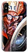 Musical Monk Watercolor IPhone Case
