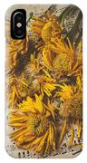 Musical Sunflowers IPhone Case