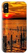 Muskegon Sunset IPhone Case
