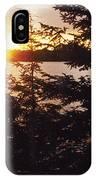 Muskoka Lake Of Bays Sunrise IPhone Case