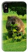 Muskrat Susie Or Muskrat Sam IPhone Case