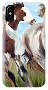 Mustangs Running Free IPhone Case