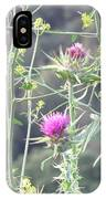 Mustard And Thistle IPhone Case