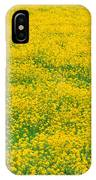 Mustard Flowers IPhone Case
