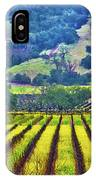 Mustard In The Vineyard IPhone Case