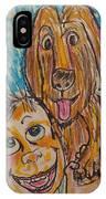 My Best Friend IPhone Case