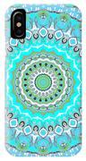 My Blue Heaven Mandala IPhone Case
