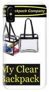 My Clear Backpack IPhone Case