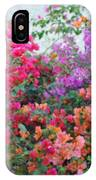 My Colorful Bouganville IPhone Case