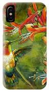 My Loving Hummingbird IPhone Case