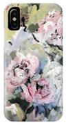 My Momma's Peonies IPhone Case
