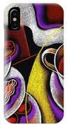My Morning Coffee IPhone Case