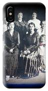 My Mother And Her Family Virginia Minnesota Circa 1919 IPhone Case