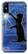 My Shinning Star - Christmas Cat IPhone Case