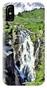 Myrtle Falls And Mount Rainier IPhone Case