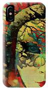 Mysterious Mask IPhone Case