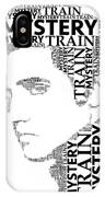 Mystery Train Elvis Wordart IPhone Case