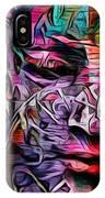 Mystic City Faces - Version B  IPhone Case