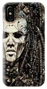 Mystic Future And Past - Ion Prophecies - Monotone  IPhone Case