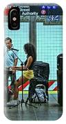 N Y C Subway Scene # 13 IPhone Case