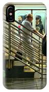 N Y C Subway Scene # 9 IPhone Case