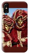 Nadine And Daniel In Red 2 IPhone Case
